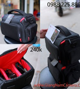 Túi máy ảnh thời trang Canon chuyên dụng – Giao hàng Toàn Quốc