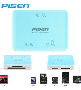 120k – Đầu đọc thẻ chính hãng Pisen 6 in 1 . Đọc tất cả các loại thẻ . Hàng chất lượng cao !