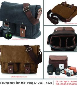 Túi máy ảnh thời trang D1206 – Thời trang – Gọn nhẹ – Chất lượng – Vận chuyển hàng Toàn Quốc