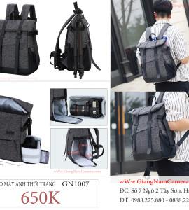 650k – Balo máy ảnh thời trang kiểu mới – GN 1007 – Chất lượng , cá tính !
